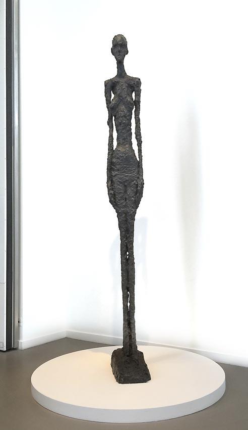 Femme debout Alberto Giacometti FONDATION LOUIS VUITTON