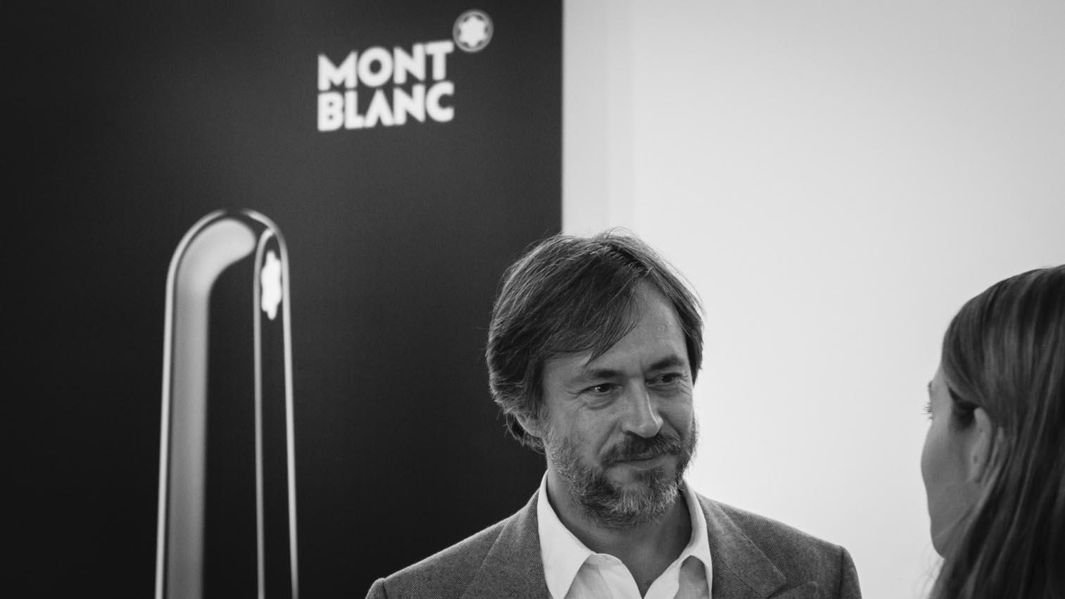 designer Marc NewsonMont Blanc