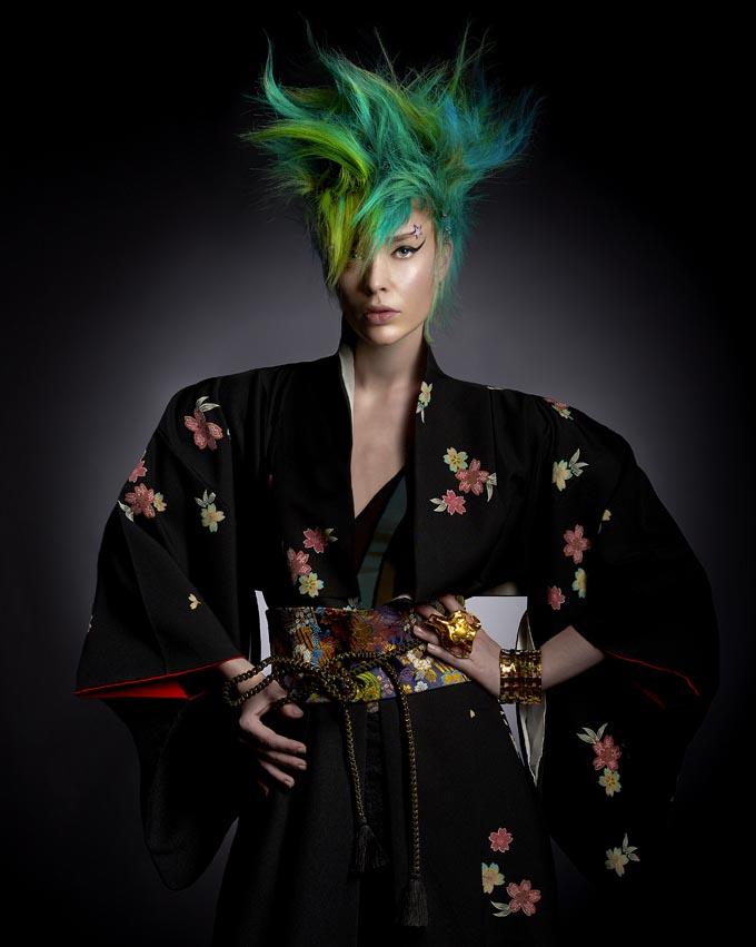 Kimono KIMONOYA PARIS  Bracelet Metal jaune POGGI