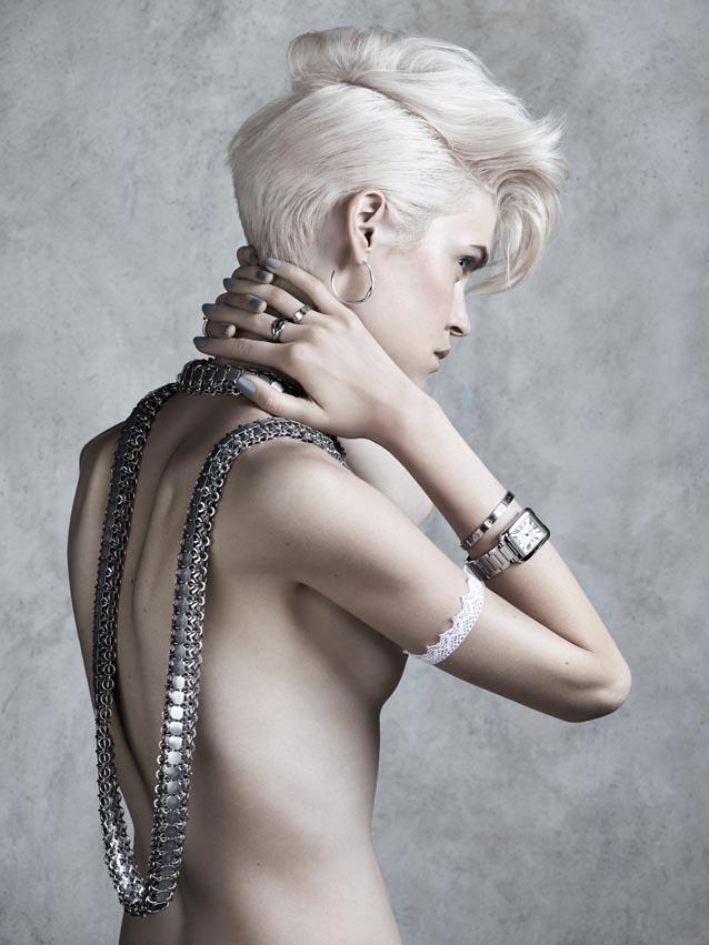 Collier - Christophe Leka / Montre, BO, bracelets et bagues - Cartier