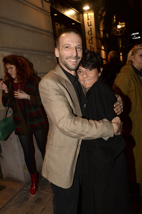 "Florence Foresti et Mathieu Kassovitz lors de la premiere de ""De Plus Belle"" au Publicis Cinema, a Paris, France, le 06 Mars 2017. Photo by Jerome Domine/ABACAPRESS.COM"
