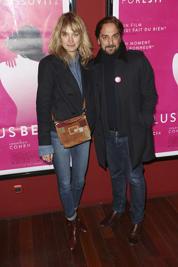 "Pauline Lefevre et Louis-Julien Petit lors de la premiere de ""De Plus Belle"" au Publicis Cinema, a Paris, France, le 06 Mars 2017. Photo by Jerome Domine/ABACAPRESS.COM"
