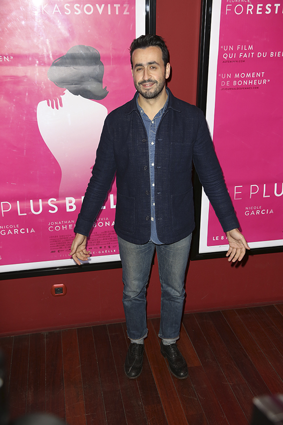 "Jonathan Cohen lors de la premiere de ""De Plus Belle"" au Publicis Cinema, a Paris, France, le 06 Mars 2017. Photo by Jerome Domine/ABACAPRESS.COM"