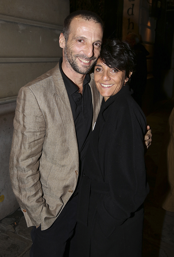 "Florence Foresti et Mathieu Kassovitz lors de l'aftershow de ""De Plus Belle"" au Buddha Bar, a Paris, France, le 06 Mars 2017. Photo by Jerome Domine/ABACAPRESS.COM"