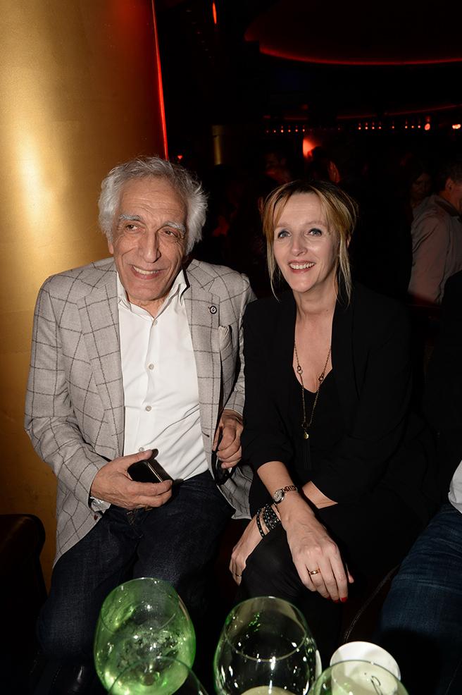 Gérard Darmon et sa femme Christine