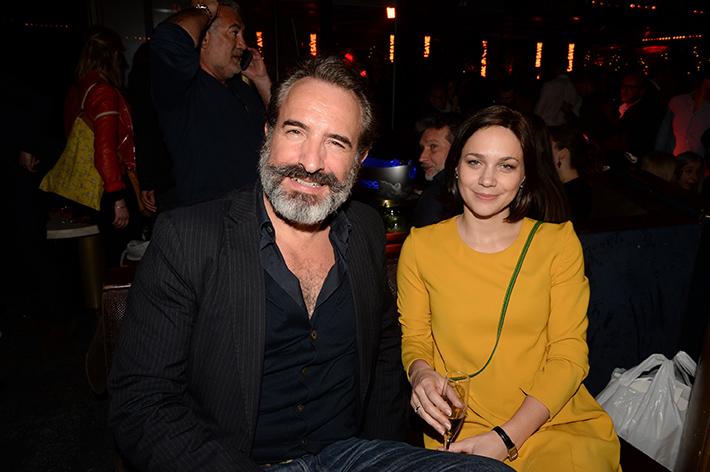 Jean Dujardin et Nathalie Péchalat (1)
