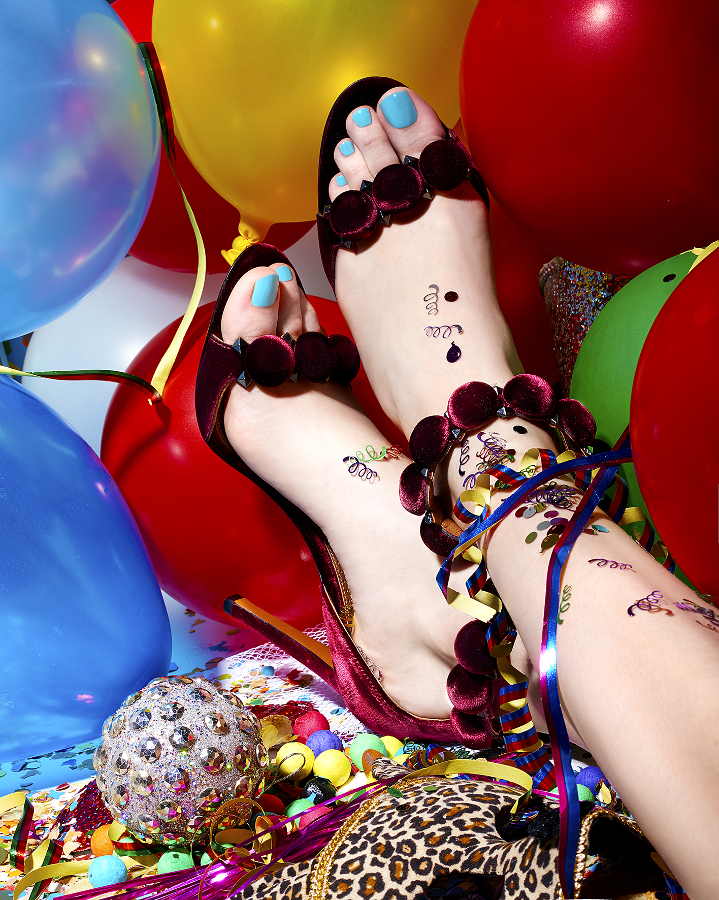 Sandales : AZZEDINE ALAIA