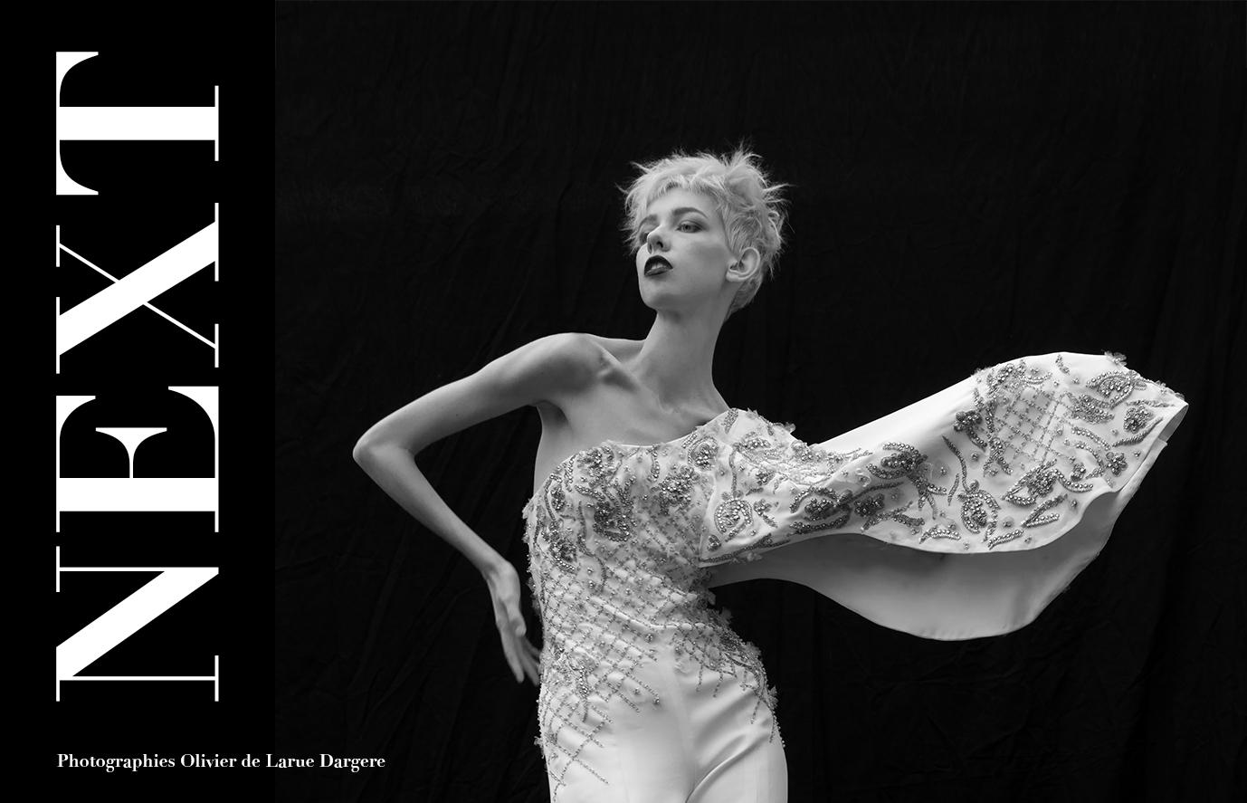 Salopette en strass couture : DANY ATRACHE