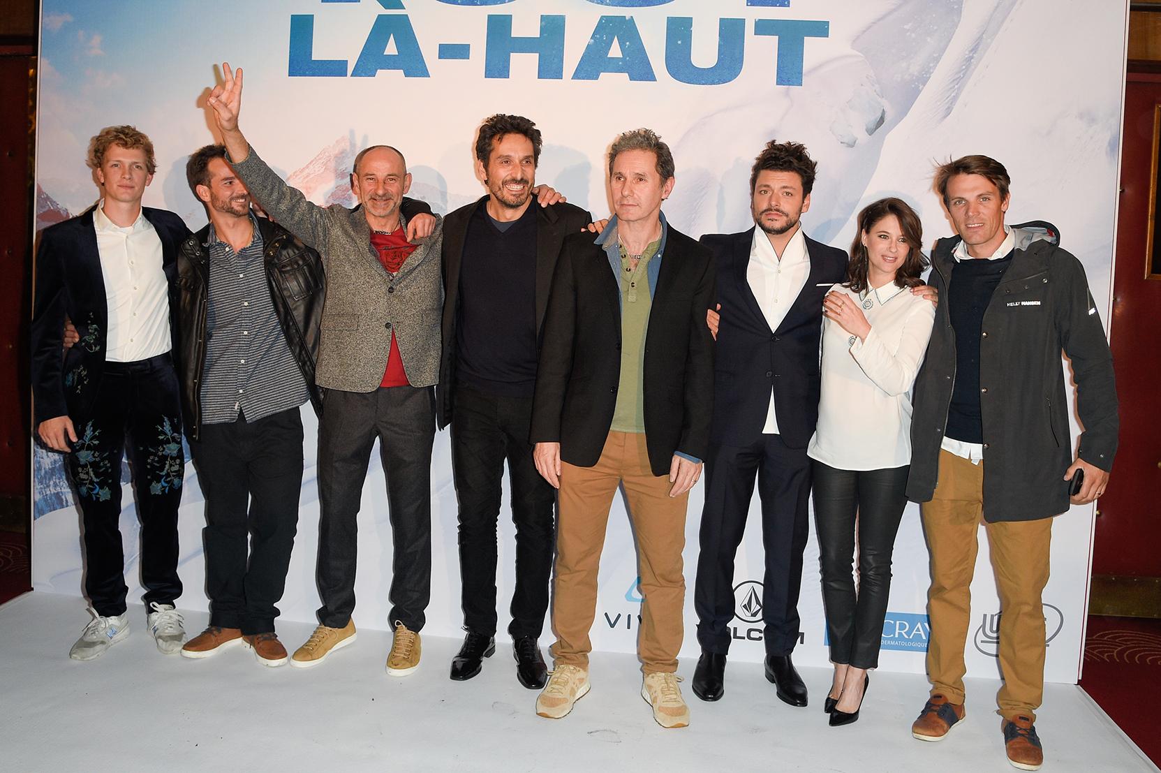 """Avant-premiËre du film """"Tout l‡-haut"""" au cinÈma le Grand Rex ‡ Paris"""