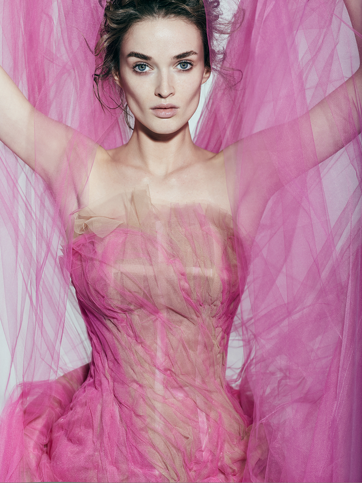 Tulle Gown  By OGLIO LORA COUTURE